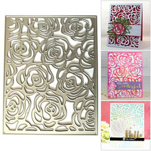 Craft Metal Cutting Dies Cut Die Mold Rose Flowers Layers Plate DIY Scrapbook Paper Knife Mould Blade Punch Stencils