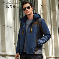 Men Winter down Inner Outdoor Jackets Thermal Waterproof Windproof Outdoor Sports Camping Hiking Female Hiking male Jacket 8870A