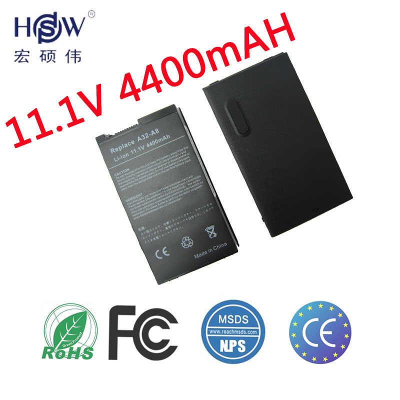 HSW ноутбука Батарея для ASUS X80H X80L X80N X80Z X81 X81Sc X81Se X81Sg Z99 Z99Fm Z99H Z99J A32 A8 A8TL751 L3TP. b991205 SN31NP025