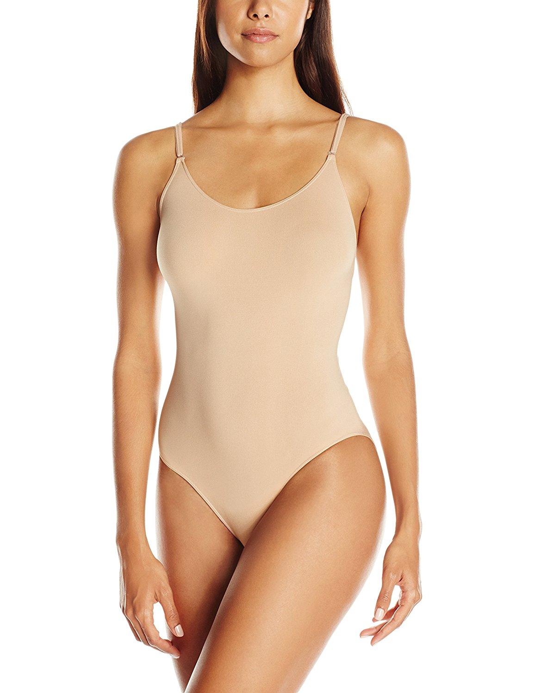 Show details for Womens Seamless Camisole Leotard Girls Adult Dance Ballet Gymnastics Tank Dancewear Costume With Adjustable Transition Straps