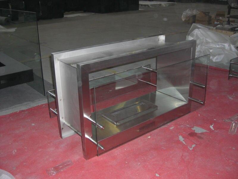 Fireplace 304#Stainless Steel Firebox
