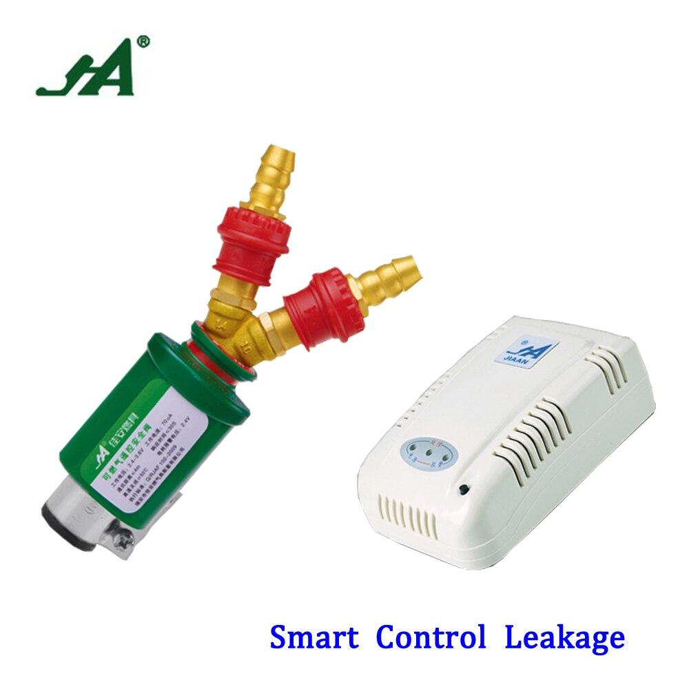 solenoid valve JA 8303 Gsm Alarm Set Control Device Self Defense Gas Safety Valve over flow shut off relief sensor system