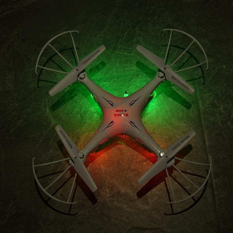 SYMA X5SW RC Drone Wifi Kamera Quadcopter Transmisja w czasie - Zabawki zdalnie sterowane - Zdjęcie 5