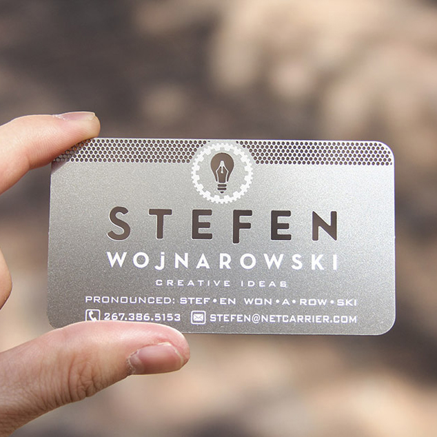 Hollow out cut out stainless steel metal business card in business hollow out cut out stainless steel metal business card in business cards from office school supplies on aliexpress alibaba group reheart Images
