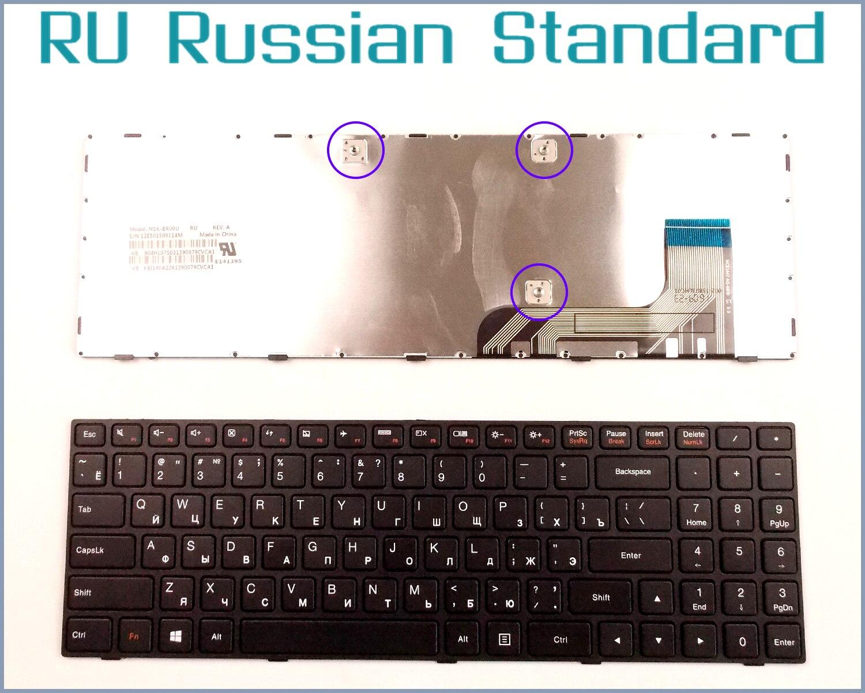 Russian RU Version Keyboard for Lenovo Ideapad 100-15 100-15IBY 100-15IB B50-10 PK131ER1A05 5N20h52634 9z. Laptop