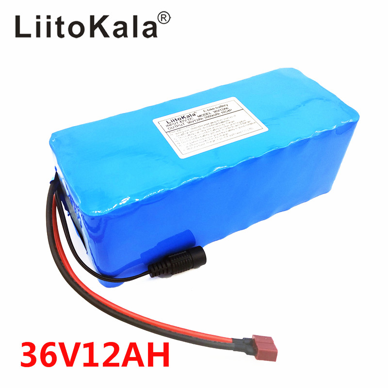 Image 3 - electric bicycle battery pack 18650 Li Ion Battery 10S 4P 36V 12ah 500W High Power and Capacity 42V Motorcycle Scooter with BMS-in Battery Packs from Consumer Electronics