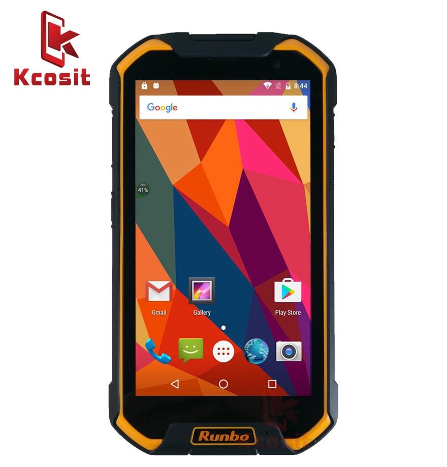 Китай Оригинал Runbo F2 IP67 Водонепроницаемый планшет телефон 6,5 1920x1080 большой прочный 4G LTE Android 6,0 смартфон Mobile 6500 мАч gps