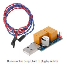 Di alta Qualità USB Del Computer di Cane Da Guardia di Riavvio Automatico Blu Dello Schermo di Estrazione Mineraria Server di Gioco BTC Minatore Feb5