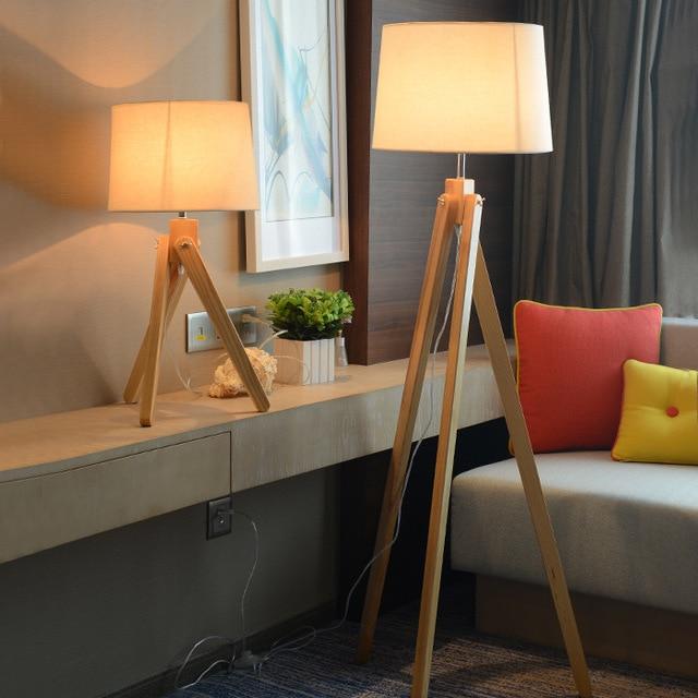 Holzmaserung Skandinavischen Nordic Amerikanischen Stil Stehlampe ...