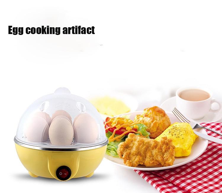 где купить Multifunctional Electric Egg Boiler Cooker Mini Steamer Poacher Breakfast Cooking Tools Machine Kitchen Utensils по лучшей цене