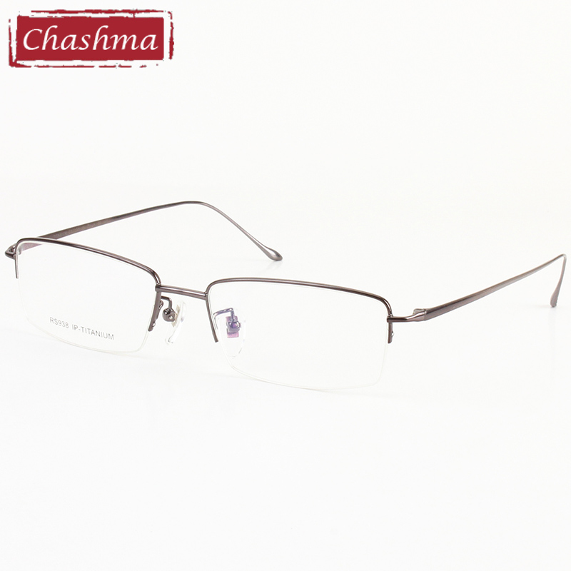 14 g Toppkvalitet Slim Ultra Light Eyeglasses Ren Titnaium Men Myopia Glasses Rammer