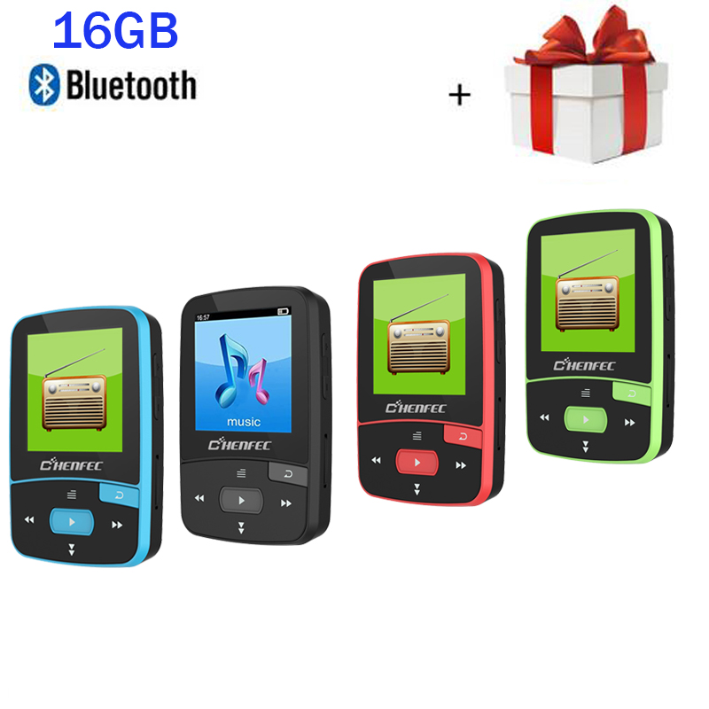 2019 New Arrived MP3 Player 16GB With Bluetooth Music Player And Clip Sport MP3 Music Player AJ2127 Chip Pedo Meter