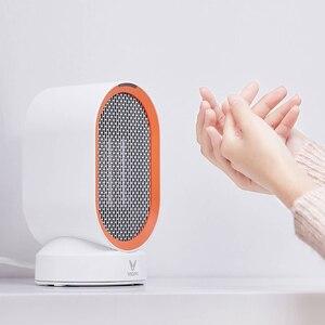 Image 2 - Youpin Viomi chauffage électrique Mini ventilateur chauffage bureau chaud/froid vent modèle Portable bureau plus chaud Machine hiver maison bureau