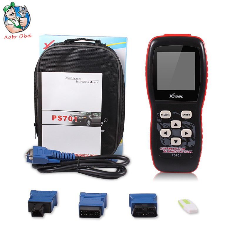 AOTO Tools Store Top-Rated 100% Original Xtool PS701 JP Diagnostic Tool PS 701 OBD2 Diagnostic for Japan Cars Scanner