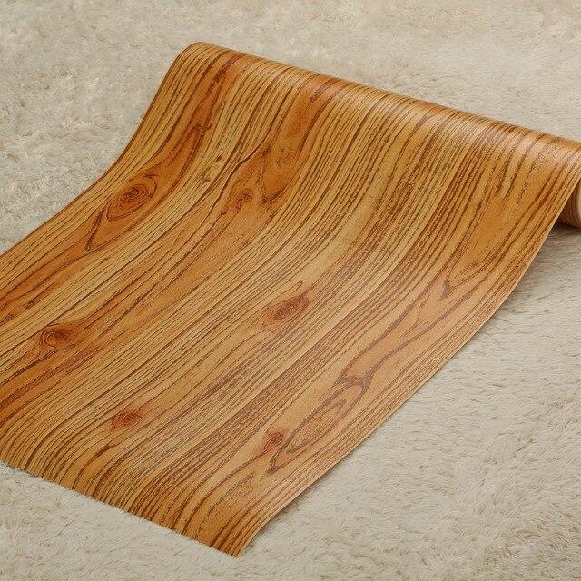 Japanischen Stil Tapeten Fr Wohnzimmer 3d Bodenbelag Holz Wand Papier Pvc Wnde Rolle Wandbilder