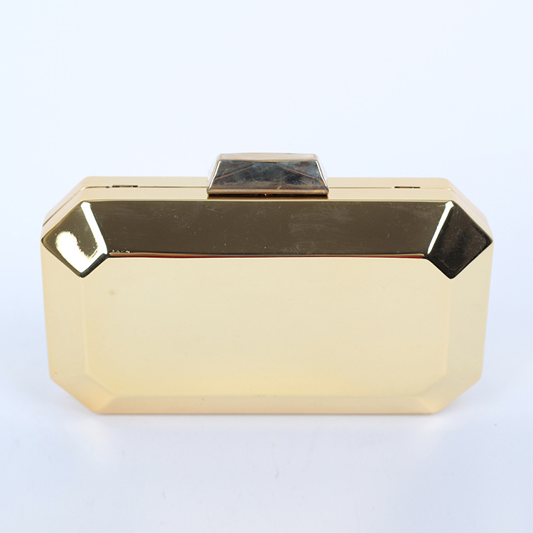New Arrival Solid Evening Bags Metallic Clutch Small Day Mini Handbag Las Bag Gold Silver Gun Black B458 In From Luggage