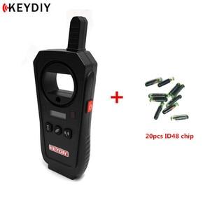 Image 3 - KEYDIY KD X2 Garage Door Remote Generater Car Key Frequency Tester 96Bit 48 Transponder Chip Copier No Token With Chips