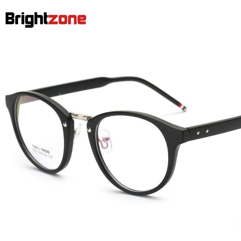 2016 Neues Angebot Tr90 Ultra Hellblau Retro Brille Plain Spiegel Myopiebrillen Rahmen Für Frauen Männer Großhandel Oculos De Sol Angemessener Preis
