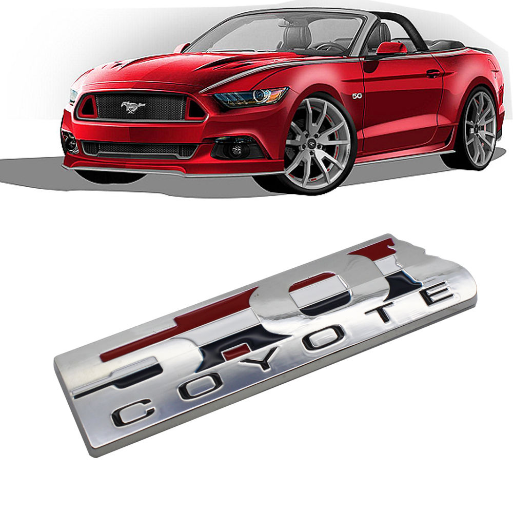compare prices on mustang coyote emblem- online shopping/buy low