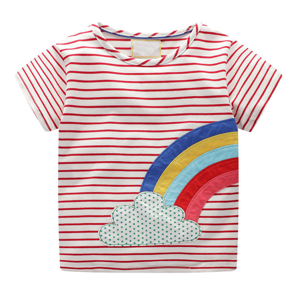 Summer Baby Boys T Shirt Blouse Short Sleeve Tops Aircraft Casual Cotton Shirts