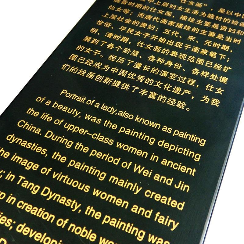 Лак небольшой складной Экран 47 см * 24 см * 0,7 см перегородки из дерева из таблицы Экран s дома украшением стола украшения домашнего декора