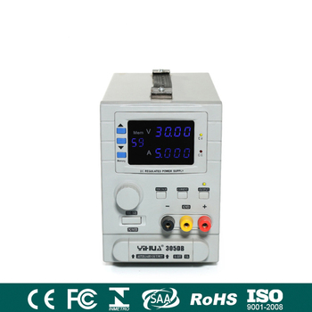 YIHUA305DB Precision Adjustable 30V 5A Variable Regulated Programmable DC Power Supply