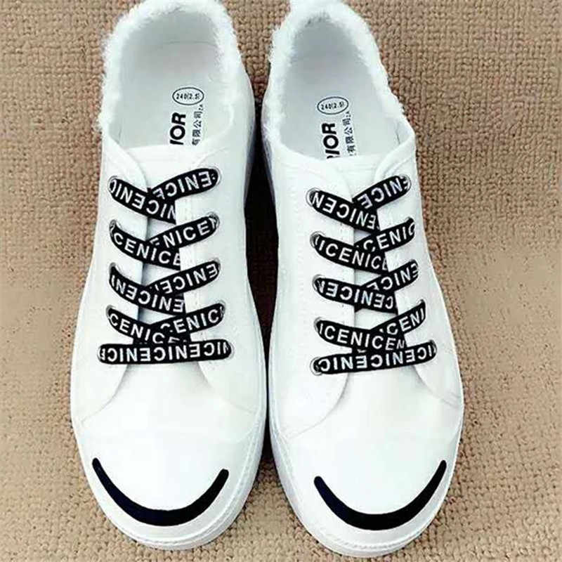 b9582a240e2c Fashion Outdoor Sport Casual Colorful Wide Shoelaces Hiking Slip Rope Flat  Shoe Laces Strings Sneakers Shoelaces For Skate Boots