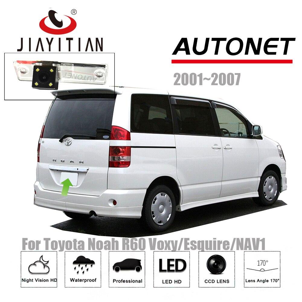 JiaYiTian rear view camera For Toyota Noah R60 Voxy/Esquire/NAV1 2001~2007 CCD Night Vision Backup camera license plate camera цена