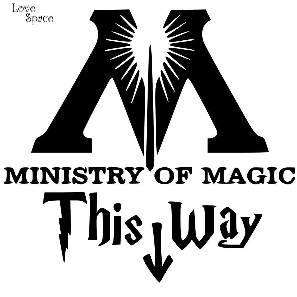Ministerium für Magie Diese Weise Vinyl Aufkleber Harry ...