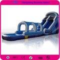 Boa Qualidade Corrediça de Água Inflável, castelo Slide. Trampolim Inflável Com Ventilador de Ar