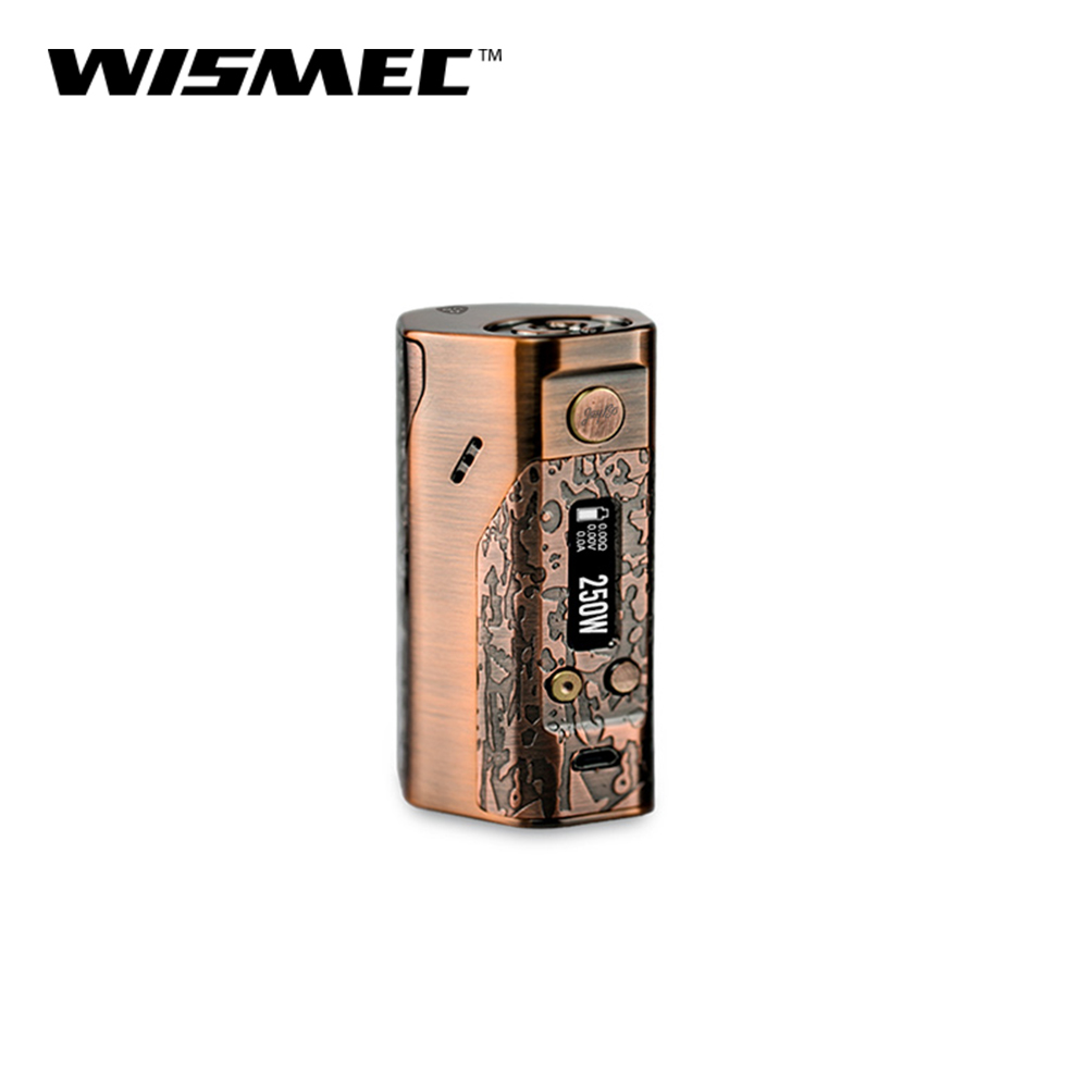 [Official Store] Original Wismec Reuleaux DNA250 Mod Box Temperature Control Box Mod Electronic cigarette vape mod kit