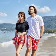 361 Summer Beach Shorts Women Vocation Casual Sport Swimwear Short Pants Couple Board Pool Surfing Trunks