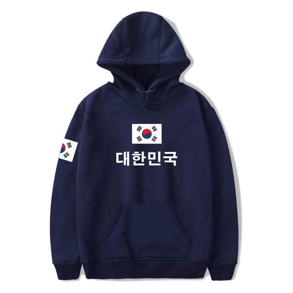 2019 Nieuwe Mode Zuid-koreaanse Nationale Vlag Pringitng Sweatshirt 4XL Plus Size Hoodies Republiek Korea Vlag Kleding