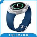 1:1 в качестве Оригинала Силиконовый Резиновый Ремешок для Часов для Samsung Gear S2 (Sm-r720) Smart Watch Band Замена Ремешок Спортивный Браслет
