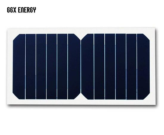 DIY Use 6.5W/6V 1A Sunpower Branded 23% Efficiency Solar Cell High Quality Portable Flexible Solar Panel+Optional USB Controller