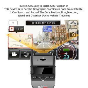 Image 5 - רכב דאש מצלמה T691C 2 אינץ 4K 2160 P/1080 P FHD דאש מצלמת 170 תואר עדשה כפולה רכב DVR מצלמה מקליט עם מובנה GPS חדש