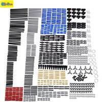 882pcs New Technic Series Parts Mini Model Building Blocks Set Compatible With Designer Toys For Kids