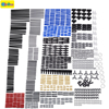882pcs New Technic Series Parts Mini Model Building Blocks Set Compatible With Designer Toys For Kids