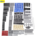 882pcs New technic series parts mini model building blocks set compatible with designer toys for kids toy building bricks Pin