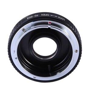 Image 3 - Cho FD EOS FD CANON FD Lens Adapter Ring Với Thủy Tinh Quang Học Tập Trung Vô Cùng gắn kết để cho canon eos ef máy ảnh 500d 600d 5d2 6d 70d