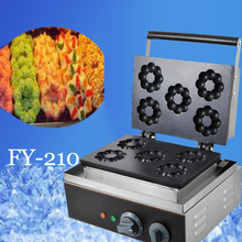 1PC Electric plum blossom sweet donut maker Electric flower type waffle machine waffle pan sweet donut