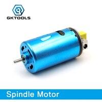Gktools 555 peças de reposição do motor do eixo para a máquina gravura do cnc gk