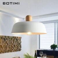 Botimi LED Pendant Lights For Dining Designer Pendant Light with Lampshade Single E27 Bar Light Indoor Hanging Lamps Kitchen