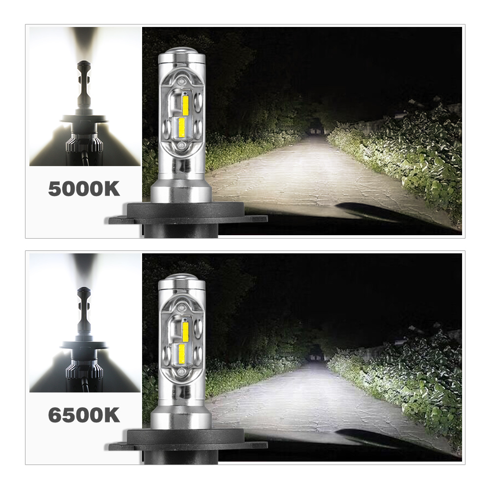 NOVSIGHT LED H4 H7 Car Headlights Bulbs 6500K 5000K Hi/Lo H15 Plug & Play 70W 10000LM H11/H8/H16JP H1 H3 9005 9006 Fog Lights