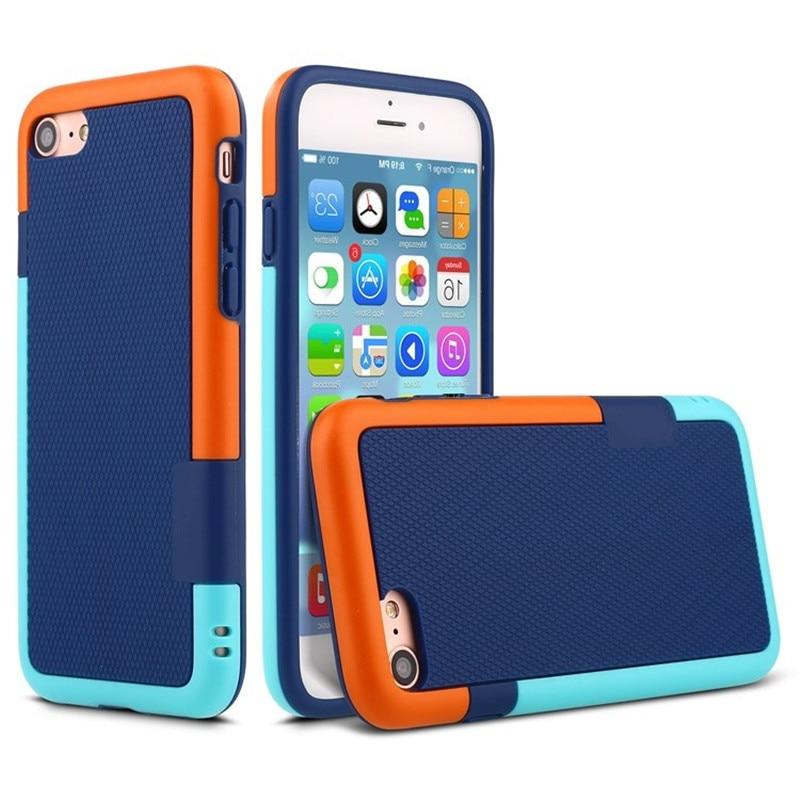 Pro iPhone7 Matte Armor Soft TPU Silikon Hybrid Gel Zadní Pouzdro - Příslušenství a náhradní díly pro mobilní telefony