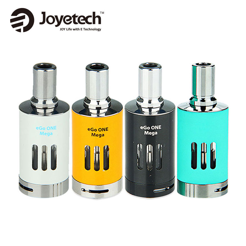 100% Original Joyetech eGo One Mega VT Atomizer 4ml E cigarettes Airflow Adjustable Tank for Joyetech eVic VT VW Box Mod Vape