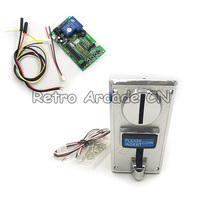 1 set CH 926 Multi Coin Acceptor Selector with timer board for 6 kinds of coins , suits Vending machine , arcade games etc