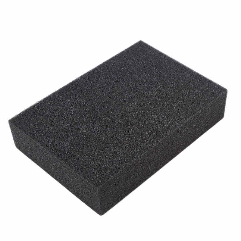 Hot 1pc Black Square Needle Pin Dense Foam Pad Cushion Mat Holder Insertion Craft Felting Sewing Tool Wool Felt Durable Mat