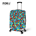 FORUDESIGNS 18-28 Inch Luggage Cover Protective Suitcase Cover Trolley Case Travel Luggage Dust Cover New Print Design