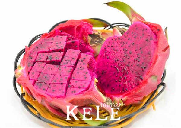 Hot Sale! 100 Pieces/pack Buah Naga Merah Bonsai Langka Naga Merah Tanaman Pot Flores untuk Taman Rumah # 6X5HGQ